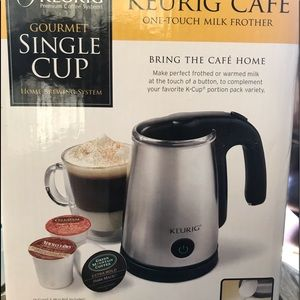 Keurig Milk Frother Single Cup BRAND NEW